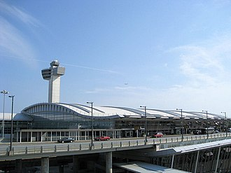 John F. Kennedy International Airport - Terminal 4 replaced the former International Arrivals Building in May 2001