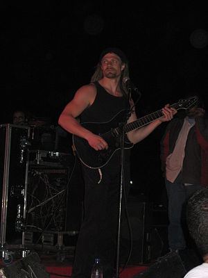 Johan Hallgren - Johan Hallgren live in Cairo with Pain of Salvation.