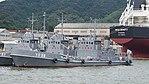 JMSDF YO-38 left front view at Maizuru Naval Base July 29, 2017 02.jpg
