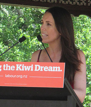 Jacinda Ardern - Ardern speaking at a Labour Party event in 2016