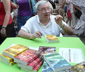 Jack McDevitt - Jack McDevitt at the Festive Bookweek in Budapest, 2010