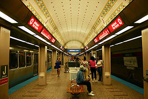 Jackson Station on the Red Line of the Chicago...