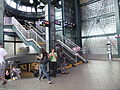Jackson Heights - Roosevelt Ave - Staircase to IRT.JPG