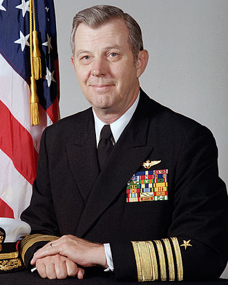 James B. Busey IV - Admiral James B. Busey IV in May 1986