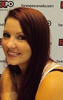 Jamie Marchi Voice Actress Fan Expo Canada 2012.jpg