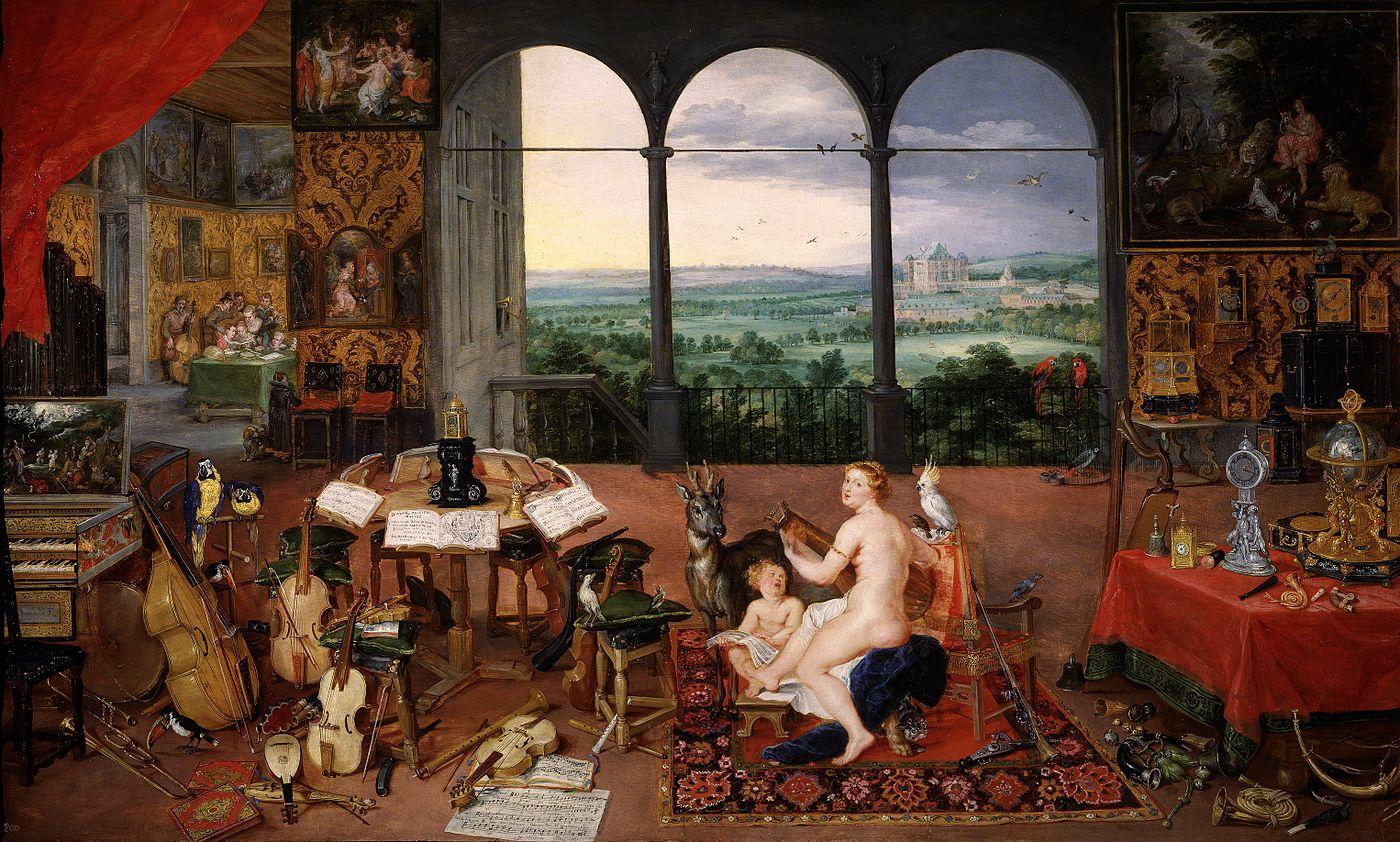 The Five Senses in Five Paintings