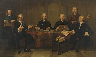 Regents of the Old Men's and Woman's Almshouse, 1750