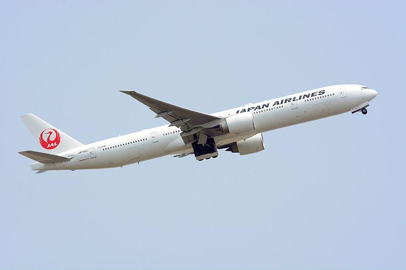 File:Japan Airlines, Boeing 777-300ER, JA741J - NRT.jpg