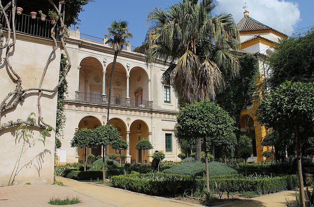 Jardin de la Maison de Pilate (Casa de Pilatos) à Séville - Photo de Nicolas Vollmer
