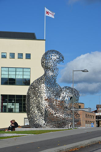 Jaume Plensa - House of Knowledge in Borås, Sweden
