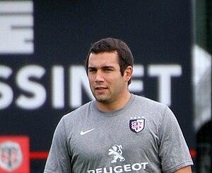 Jean-Marc Doussain - Image: Jean Marc Doussain entrainement du Stade Toulousain 20110718