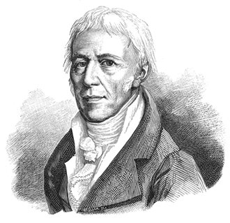 Alternatives to evolution by natural selection - Jean-Baptiste Lamarck, drawn by Jules Pizzetta, 1893