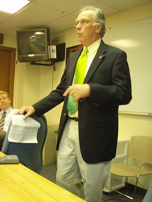 Jeff Barker (politician) - Barker in 2009