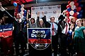 Jeff DeWit, Michele Reagan, Jan Brewer, Doug Ducey & Mark Brnovich with supporters (14871199877).jpg