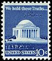 Jefferson memorial 10c 1973 issue.JPG