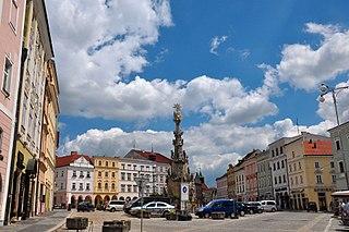 Jindřichův Hradec Town in the Czech Republic