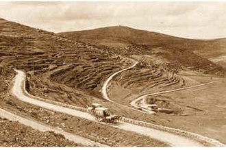 Battle of Ma'aleh Levona - Presumed location of the battle, 1912