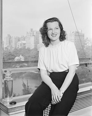 Jo Stafford - Jo Stafford, 1946 Photograph by William P. Gottlieb