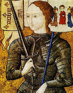 Joan of Arc miniature (cropped)