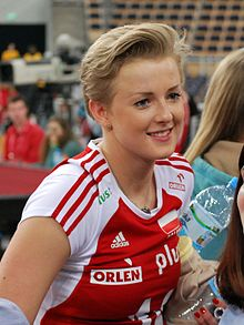 Joanna Wołosz 02 - FIVB World Championship European Qualification Women Łódź January 2014.jpg