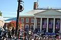 Joe Biden in front of Reynolda Hall 2 (2967276811).jpg