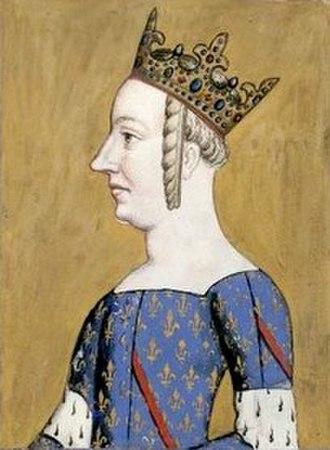 Dauphine of France - Image: Johana Bourbon