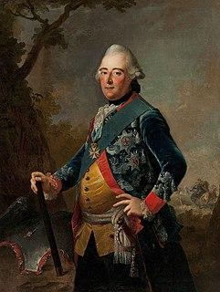 Landgrave of Hesse-Kassel (or Hesse-Cassel) from 1760 to 1785