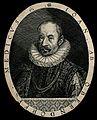 Johann Oberndorfer von Oberndorf. Line engraving. Wellcome V0004344.jpg