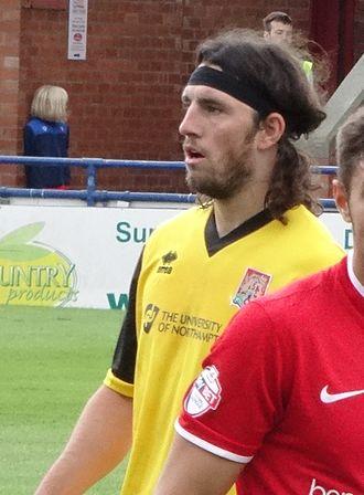John-Joe O'Toole - O'Toole playing for Northampton Town in 2014