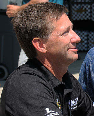 John Andretti - Andretti at Carb Day 2015 at Indianapolis Motor Speedway