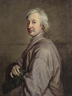 King Arthur (opera) - Portrait of John Dryden by Godfrey Kneller, 1698