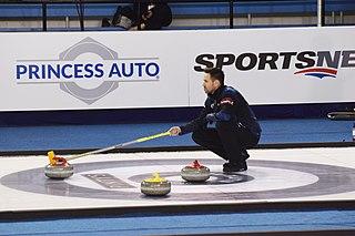 John Epping Canadian curler from Toronto, Ontario