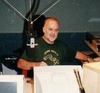 John Peel - Peel in a studio at Yalding House