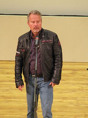 "John Savage (actor) - John Savage discussing ""Hair"" at Sofia International Film Festival, March 2017."