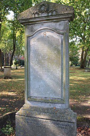 John Walker (lexicographer) - John Walker's grave, Old St Pancras Churchyard, London