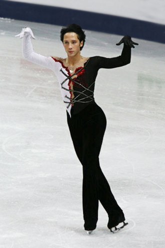 Johnny Weir - Weir at the 2008 World Figure Skating Championships