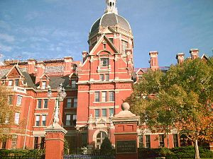 Johns Hopkins Hospital - Photograph as of September 2012