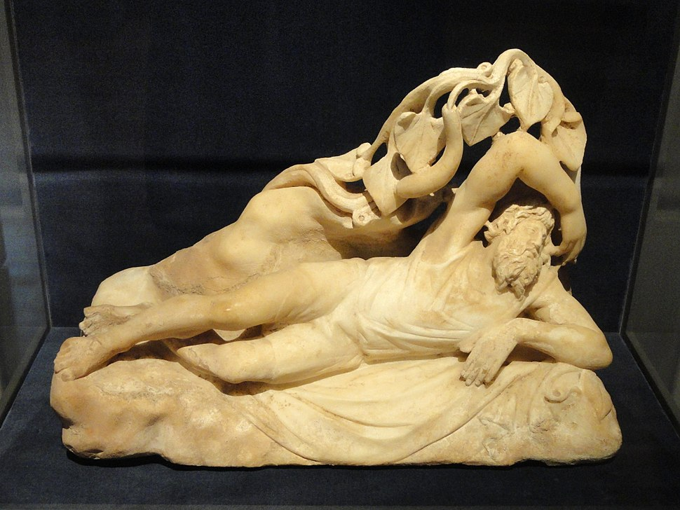 Jonah Under the Gourd Vine, 280-290 AD, Late Roman, Asia Minor, marble - Cleveland Museum of Art - DSC08339