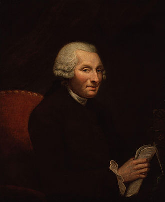 History of United States prison systems - Philanthropist penal reformer Jonas Hanway, author of Solitude in Imprisonment (1776), circa 1785.