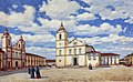 José Wasth Rodrigues - Páteo e Igreja da Sé e São Pedro, 1840, Acervo do Museu Paulista da USP.jpg
