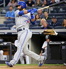 569c547b448 2016 Toronto Blue Jays season - José Bautista was suspended for one game  for his role