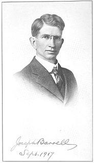 Joseph Barrell American geologist