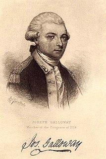 Joseph Galloway American politician