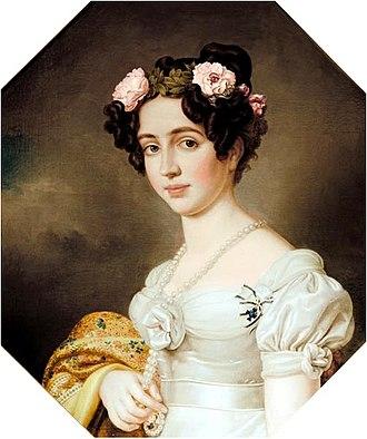 Caroline of Baden - Image: Joseph Stieler Königin Elisabeth von Preußen, nach 1843