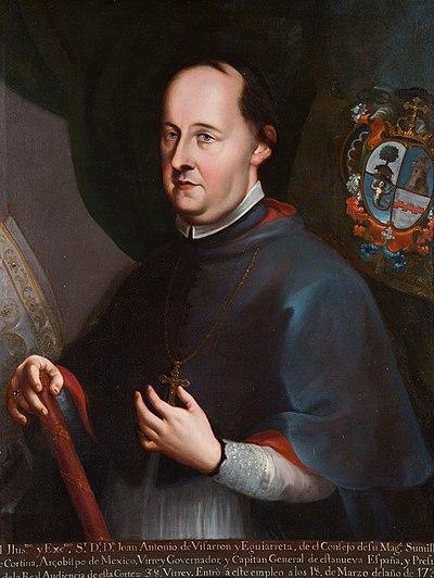 Retrato de Juan Antonio Vizarrón.