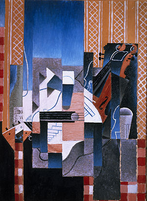 Juan Gris - Violon et guitare - Google Art Project