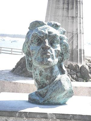 Juan de la Cosa - Bust of Juan de la Cosa, Santoña