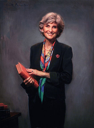 Susan Illston - Judge Susan Illston's official portrait for the U.S. District Court  was painted by Scott Johnston