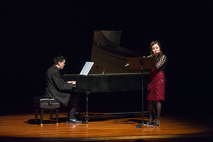 Julee Walker's flute recital at Texas A&M University-Commerce in 2015 Julee Walker flute recital (15892393673).jpg