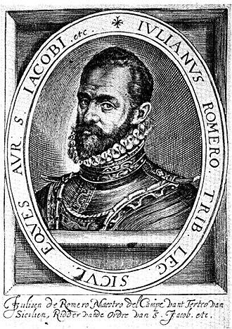 Battle of the Scheldt (1574) - Julian Romero the Spanish commander